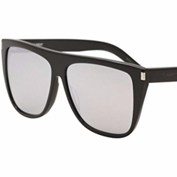 f4bf6196b4ab Saint Laurent Accessories   Sl 1 008 Black Oversized Sunglasses ...